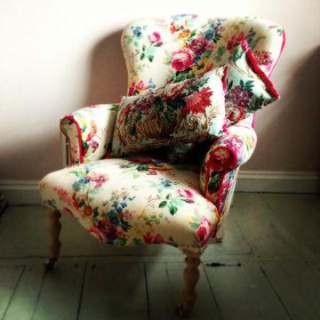sillones para cuartos juveniles vintage