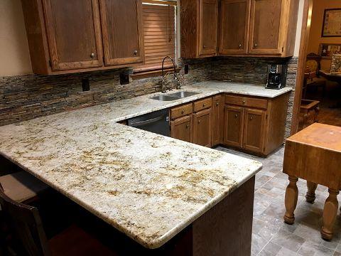 tableros de granito para cocina todo el mueble
