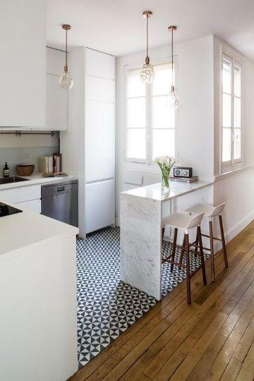 barras en la cocina comedor materiales resistentes