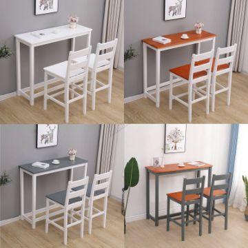 barras en la cocina comedor para espacios pequeños