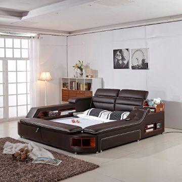 camas matrimoniales modernas funcionales