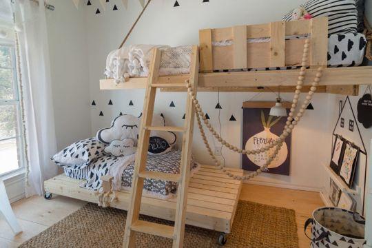 camas para niños modernas literas