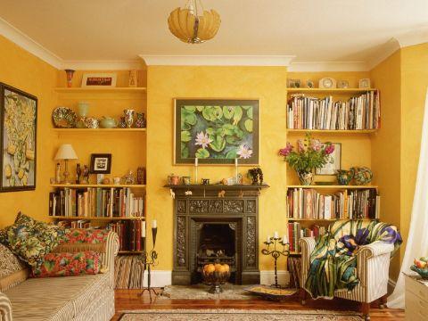 como pintar salas modernas colores calidos