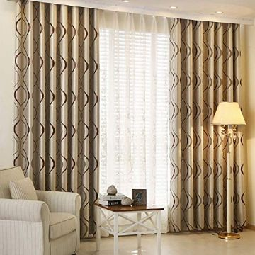 diseños de cortinas para salas elegantes