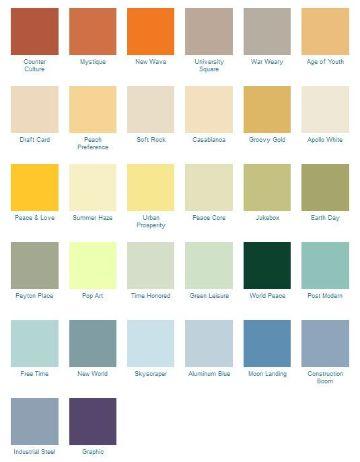 exteriores de casas pintadas paleta de colores