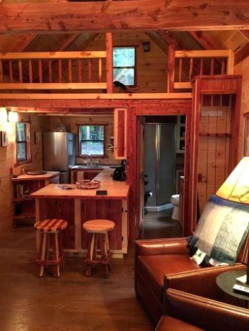 interiores de cabañas pequeñas tapancos