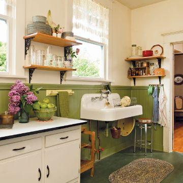 muebles de cocina vintage faciles de generar
