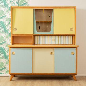muebles de cocina vintage gabinete