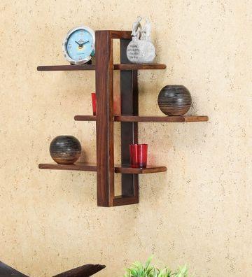 repisas flotantes de madera modernas
