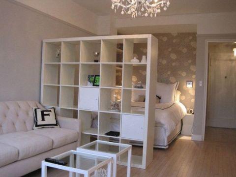 tips para departamentos pequeños muebles para separar espacios