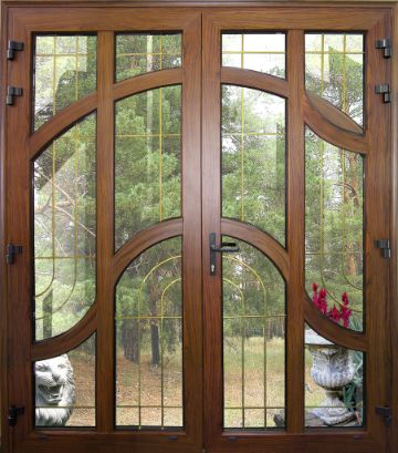 ventanas de madera modernas rusticos
