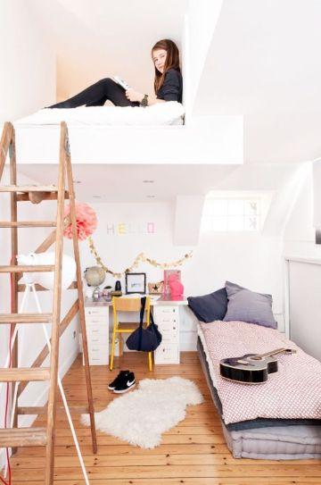 camas para niñas modernas funcional