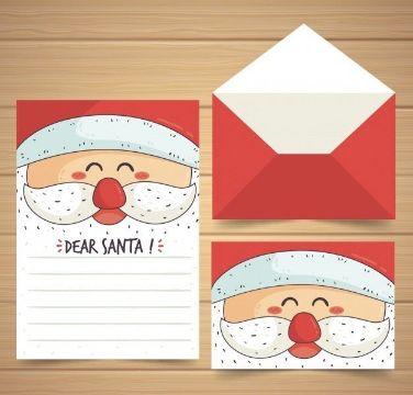 cartas navideñas creativas diseños para imprimir