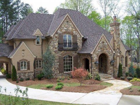 casas estilo frances moderno de campo