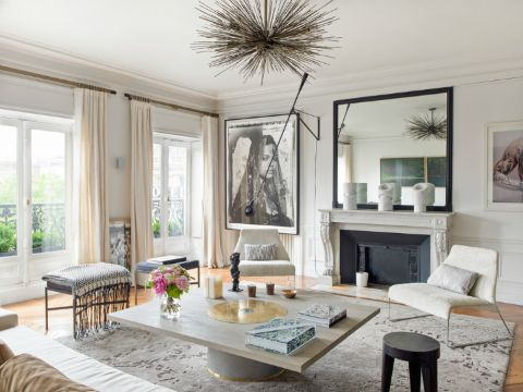 casas estilo frances moderno interiores