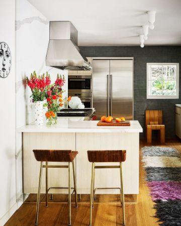 como decorar departamentos pequeños cocinas