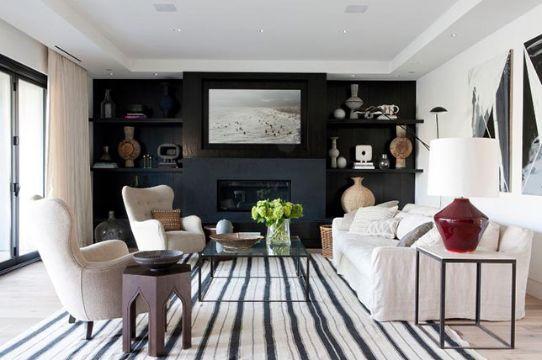 como pintar un apartamento moderno salas