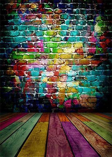 como pintar una pared de ladrillo a colores