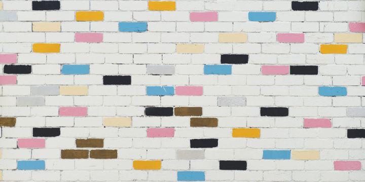 como pintar una pared de ladrillo concepto