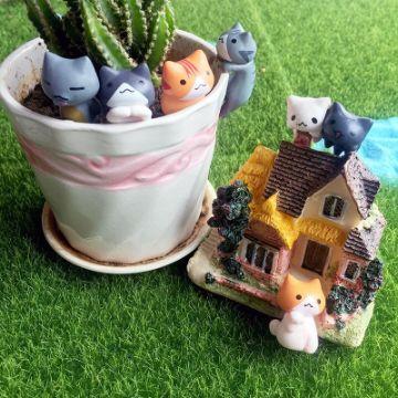 decoracion de jardines pequeños figuras divetidas