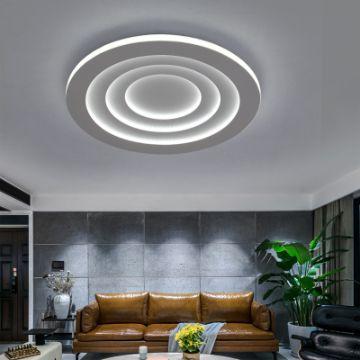 decoracion de lamparas para sala y comedor modernas