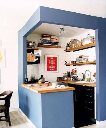 decorar la cocina pequeña adaptaciones tablaroca