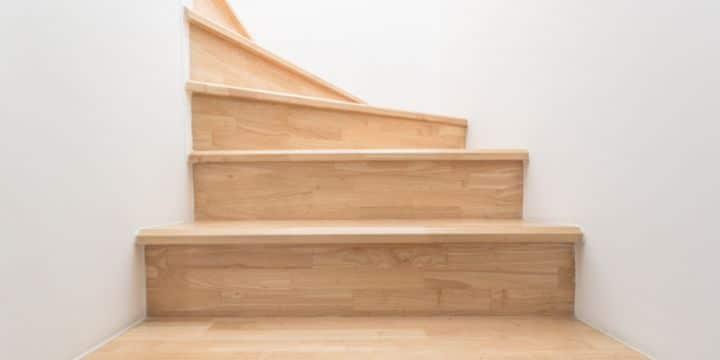 escaleras para segundo piso sin barandales