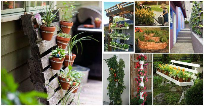 jardines pequeños en casa ideas