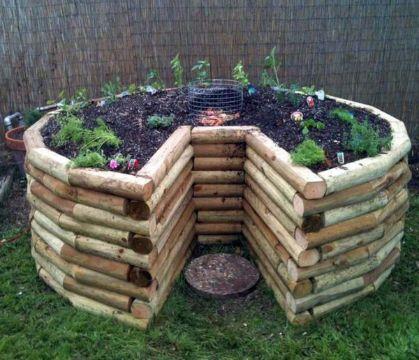 jardines pequeños en casa maceton