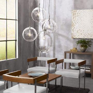 lamparas de techo para sala modernas y minimalistas