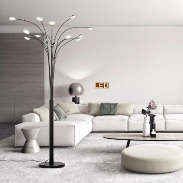 lamparas para la sala modernas de pie