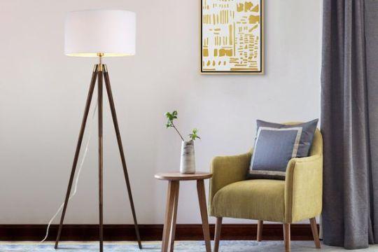 lamparas para la sala modernas tripie