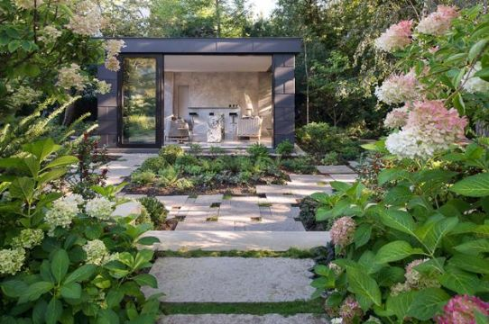 modelos de casas con jardin modernos