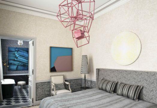 como decorar la pared de mi cuarto lamparas de techo