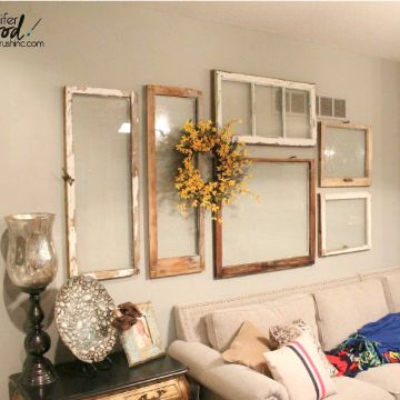 como decorar la pared de mi cuarto marcos vintage