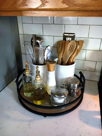 como organizar la cocina pequeña para utensilios