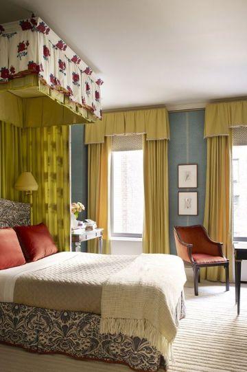 cortinas modernas para dormitorios tonalidades