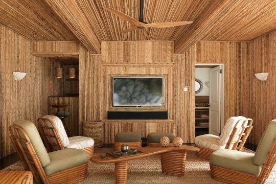 decoracion con bambu para salas en su totalidad
