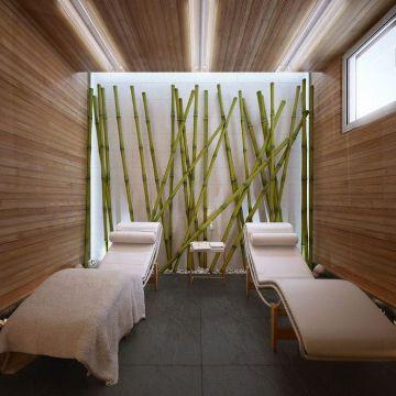 decoracion con bambu para salas negocios