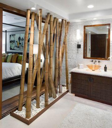 decoracion con bambu para salas ornamentos