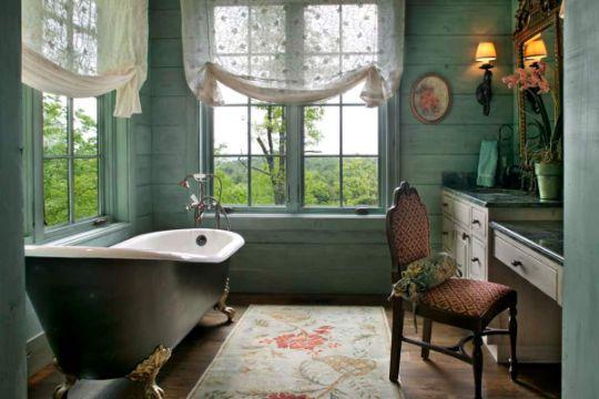 decoracion estilo vintage baños