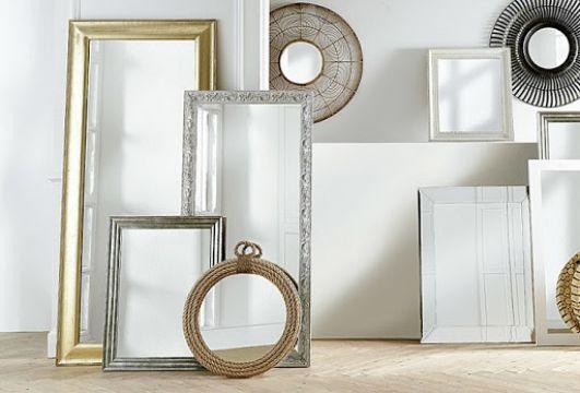 espejos grandes de pared diferentes diseños
