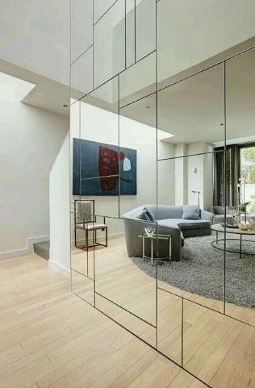 espejos grandes de pared muros completos