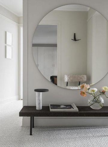 espejos grandes de pared redondos