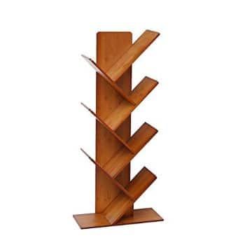 modelos de libreros de madera moderno y artistico