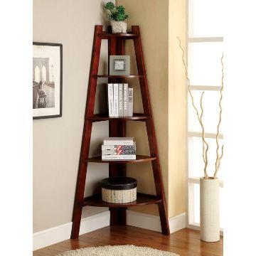 modelos de libreros de madera para esquinas