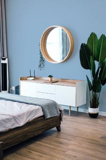 colores para habitaciones pequeñas azules