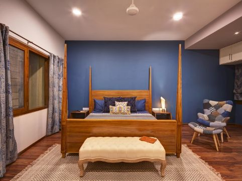 colores para pintar dormitorio contrastes