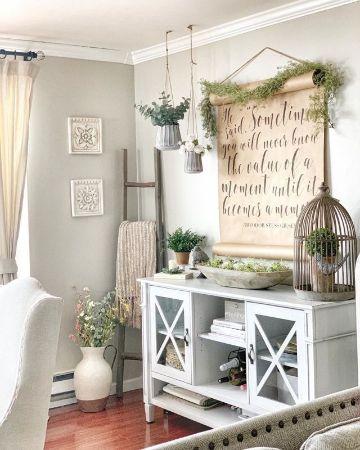 decoraciones en madera para salas estilo farmhouse