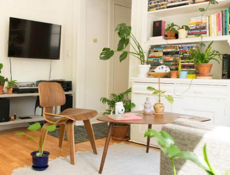 decoraciones en madera para salas muebles originales